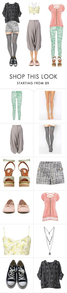 """Unbenannt #142"" by tricksterkat ❤ liked on Polyvore featuring Diane Von Furstenberg, Wolford, Vivienne Westwood Red Label, ASOS, Valentino, Boutique Moschino, MANGO, maurices, Converse and Of Two Minds"