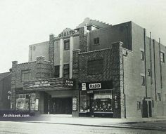 Architect: Frederick James Macaulay Opened in November 1936 and closed in A large auditorium designed to seat meant that it was usable as a car Ireland Pictures, Old Pictures, Old Photos, Vintage Photos, Auditorium Design, Art Deco Buildings, Dublin City, Dublin Ireland, Architecture