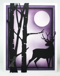 MOONLIT NIGHT by Tammie E - Cards and Paper Crafts at Splitcoaststampers