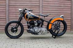 Thanks to Patrick Heselmans of Belgium for this this picture of his 1948 Harley Davidson WL45 that he has modified to look like a WR model. Description from vintagebike.co.uk. I searched for this on bing.com/images