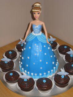 Mylas Cinderella cake Cakes I have made Pinterest Cake