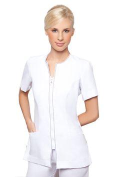 We're going to turn you into just the cutest sissy! Salon Uniform, Spa Uniform, Scrubs Uniform, Staff Uniforms, Medical Uniforms, Work Uniforms, Vet Scrubs, Housekeeping Uniform, Uniform Design