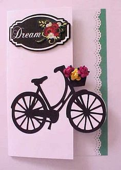 Spring Dream Bicycle Card