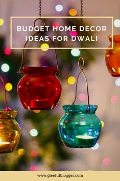 Budget home decoration ideas for Diwali. How to decorate your home in a small budget with DIY and reusing old stuff. Diwali Decoration Lights, Diwali Decorations At Home, Light Decorations, Halloween Decorations, House Decorations, Modern Laundry Rooms, Diy House Projects, Creating A Brand, Dollar Stores