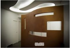 streamlined gypsum board design for wall and false ceiling with LED lighting comprehensive catalogue of modern gypsum board designs for false ceiling designs and walls in living rooms, bedrooms, kid& rooms and hallways Gypsum Board Design, Plasterboard, False Ceiling Design, Kids Room, Boards, Mirror, Lighting, Wall, Modern