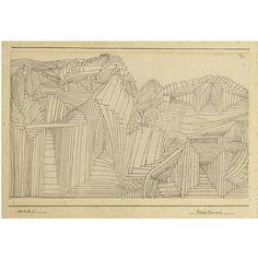 Paul Klee, Rock Temple, 1925