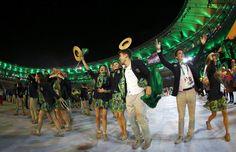 Cerimônia de abertura dos Jogos Olímpicos Rio 2016 - Olimpic Games Rio 2016…