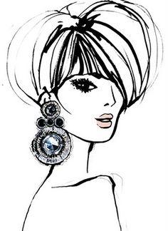 Cute fashion illustration