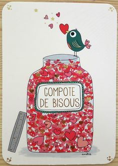 News Art Cards - Amélie Laffaiteur Birthday Wishes, Birthday Cards, Happy Birthday, Art Carte, Valentine's Day Diy, Cute Illustration, Paris Illustration, Valentines Diy, New Art