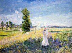 Claude Monet - The Walk , c.1872-75
