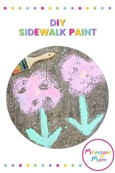 It's always good to have the kids have some time off from screens. So if you're looking for a perfect activity to keep them away from their gadgets for a few hours while having fun, this sidewalk paint activity will do the trick, here's how. Sidewalk Paint, Some Times, Hands On Activities, Little People, Fun Learning, As You Like, Cool Kids, Are You Happy, Parenting