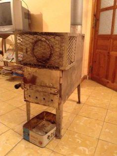 Estufa de llenya a Casa Juanico