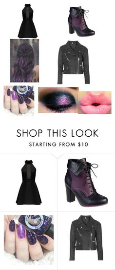 """""""Purple :)"""" by roslyn-lynch on Polyvore featuring Topshop"""