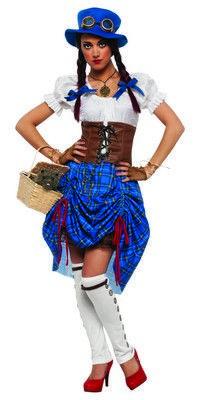 Steampunk Dorothy [Wizard Of Oz] $80.24 http://www.halloweencostumes4u.com/prods/rub888943.html #stempunk #steampunkcostume #stempunkdorothy #Dorothycostume #newcostume #halloween2014
