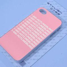 1-800 HOTLINE BLING iphone case - mycovercase