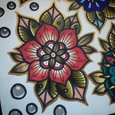 Close up of this one. Really keen to tattoo this and the others #tattoo #mandala…