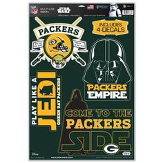 New Orleans Saints Official NFL 11 inch x 17 inch Star Wars Darth Vader Car Window Cling Decal by Wincraft 403254 Nfl Green Bay, Green Bay Packers, Pittsburgh Steelers, Dallas Cowboys, Logo Shapes, Star Wars Set, Window Clings, Nfl Jerseys, Oriental Trading