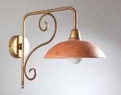 16 fantastiche immagini su applique in stile rustico: lampade a