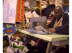 video still of: Copa & Sordes, sewing reality of globalisation, video, 2009 | photo: Copa & Sordes
