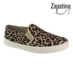 Zapatos Animal Print / $64.900 / Garantía 60 días / Material lona sintética /  Domicilio gratis en Medellín / Envíos a todo el país ✈️ / Pedidos al 310 544 1615 / www.zapatina.co #Zapatina #Zapatos #Moda