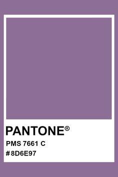 PANTONE 7661 C #pantone #color #PMS #hex Pantone Matching System, Pms Colour, Print Design, Graphic Design, Cosmetics Industry, Purple Lilac, Colour Board, Color Swatches, Pantone Color