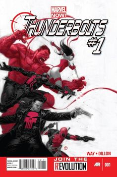 Red Hulk, Deadpool, Elektra, Venom And The Punisher Suit Up In 'Thunderbolts' #1 This December
