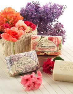 Nesti Dante Italian Soaps in our Soap House! Soap Making, Pharmacy, Soaps, Gift Wrapping, Packaging, Candles, Pretty, Handmade, Gifts