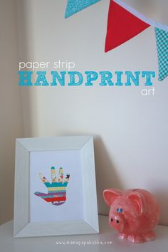 Paper Strip Handprint Art | Mama.Papa.Bubba..jpg