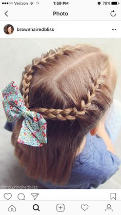 Half Up Style On Little Small French Braids Tied Together inside size 1080 X 1349 Small French Braid Hairstyles - Braided hairstyles are incredibly Little Girl Hairdos, Lil Girl Hairstyles, Girls Hairdos, French Braid Hairstyles, Kids Braided Hairstyles, Girls Braids, French Braids, Toddler Hairstyles, Trendy Hairstyles