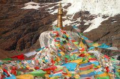 Glaciar Karo La - Tíbet
