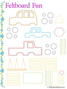 Kids luke on pinterest 113 pins for Felt storyboard templates