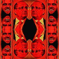 "Serie ""Jack presents the brazilian sociopaths"", N.o 2  Governor of São Paulo  Geraldo José Rodrigues Alckmin Filho (Born 07/11/19 52 - Hell: Someday). #artedigital #digitalart #appprisma🔺 #applayout #Brasil #brazil #darkside"