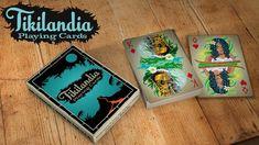 My Tikilandia #PlayingCards now on #Kickstarter #tiki #art #tiki bar #cards #games #cardistry