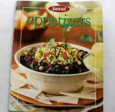 Sunset Appetizers 1990 PB (8714-982) cookbooks