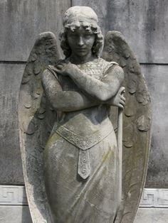 Buenos Aires. Yep, pretty sure this fulfills the judgmental angel statue in The Heckmasters.