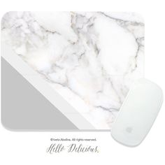 Marble Mouse Pad Mousepad Gray Marble Print Mouse Mat Mouse Pad Office... ($19) ❤ liked on Polyvore featuring home, home decor, marble home decor, gray home decor and grey home decor