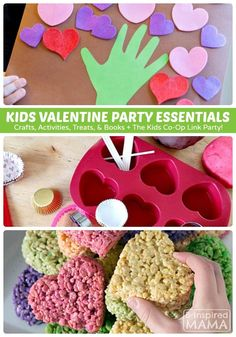 Creative Kids Valentine Party Ideas - From Crafts to Activities to Treats & Recipes Liapela.com