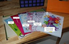 homeschool organizing idea