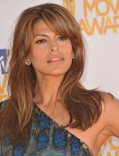 EVA MENDEZ UPDOES | Eva Mendes Straight Hairstyle - A Simple Style That Ages Her!