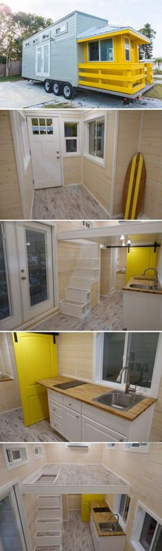 The Lifeguard Station tiny house (240 sq ft)