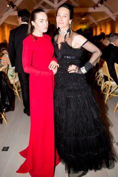Tallulah Harlech and Amanda Harlech