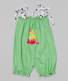 Another great find on #zulily! Lime Mermaid Bubble Romper - Infant & Toddler #zulilyfinds