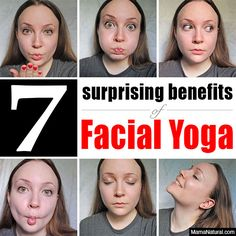 7 Surprising Benefits of… Facial Yoga? 7 Surprising Benefits of… Facial Yoga? Massage Facial, Yoga Facial, Anti Rides Yeux, Yoga Fitness, Health Fitness, Face Exercises, Salud Natural, Look Younger, Tips Belleza