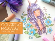 ★ [Bunny Girl] - COPIC COLORING
