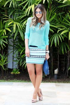 Flagra desta terça: Thássia Naves e sua saia deusa!    Agora no blog. Saturday Outfit, Ideias Fashion, Personal Style, Cool Outfits, Style Inspiration, Chic, Pretty, Clothes, Beauty