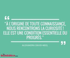 Citation Alexandra David-Neel