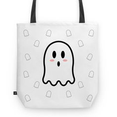 Bolsa Miss Boo - I | @danistarart | A venda na @colab55 | #funny #fun #divertido #fantasma #fantasminha #ghost #boo #buu #geek #desenho #anime #bolsa #bag #totebag #sacola #estampa #pattern