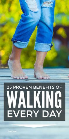 There are huge benefits to walking just one mile every day. Medical research shows a daily walk can reduce and ease a wide range of chronic conditions and improve mental health in adults and kids. It's great if it's brisk but you don't have to do an all out power walk to enjoy the benefits. #walking #walkingbenefits #walkingdaily #benefitsofwalking #walkingforweightloss Health Benefits Of Walking, Walking For Health, Walking In Nature, Power Walking, Walking Exercise, Health Tips, Health And Wellness, Health Fitness, Wellness Tips