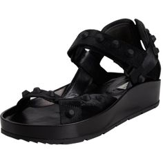 Balenciaga Arena Ankle-Strap Sandals at Barneys.com
