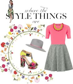 """""""Where The Style Things Are"""" by latoyacl on Polyvore"""
